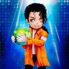 Michael Jackson chibi anime by daihaa-wyrd on deviantART Michael Jackson Dibujo, Michael Jackson Cartoon, Michael Jackson Drawings, Michael Jackson Wallpaper, Michael Jackson Smile, Michael Love, Michael Art, Paris Jackson, Lisa Marie Presley