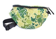 Chira Designs Camouflage Frogs fabric Fanny Pack  Waist Bag * Want to know more, click on the image.