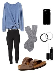 """Untitled #3"" by chelleybeans on Polyvore featuring Venus, Birkenstock, Gap, Speck, Lokai, Barbour, Marc Jacobs and plus size clothing"