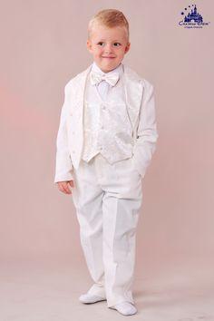 """""""Фрак белый"""". Рост: до 100 см, 104 - 116 см, 116 - 128 см.  Подробнее о костюме: http://skazkindom.dp.ua/gal_5/frak_belli.html  Сайт:) http://skazkindom.dp.ua"""