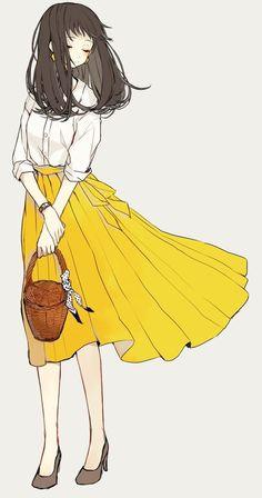 15 Ideas Anime Art Girl Outfits Draw For 2020 Manga Girl, Anime Art Girl, Anime Girls, Anime Kawaii, Anime Style, Character Inspiration, Character Art, Desu Desu, Fanarts Anime
