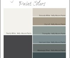 Interview with Paint Color Stylist Mary Lawlor from Kelly-Moore Paints {Paint It Monday} Kelly Moore Paint Colors Interiors, Interior Paint Colors For Living Room, Exterior Paint Colors For House, Paint Colors For Home, Exterior Colors, Kelly Moore Paints, Paint Colours, Wall Colors, Trending Paint Colors