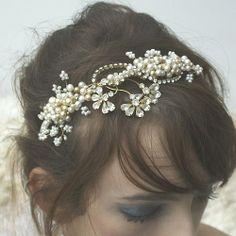 Vintage hair jewellery