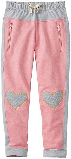 On the way to everywhere, our heavenly soft pure cotton French terry (think the . Little Girl Fashion, Kids Fashion, Aya Couture, Winter Kids, Girls Pants, Girl Falling, Sport Wear, Girls Wear, Sewing For Kids