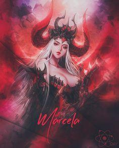Fantasy Art Warrior, Lolis Anime, Female Demons, Aesthetic Themes, White Hair, Dark Fantasy, Random Things, Elf, Taehyung