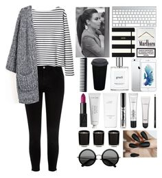 """""""#24"""" by gargamela ❤ liked on Polyvore featuring beauty, River Island, Wood Wood, Kate Spade, NARS Cosmetics, philosophy, Byredo, Hermès, Linea and GHD"""