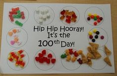blog post with many 100th day ideas!