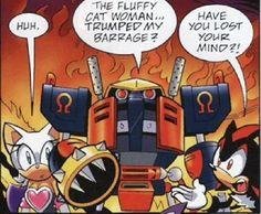 E-123 Omega Picspam (Spoilers for Sonic Universe #22 and #23 ...
