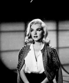 """Marilyn Monroe during hair and costume tests for The Misfits. """