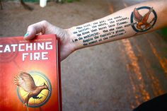 The Hunger Games: Catching Fire II 10 Fan Tattoos
