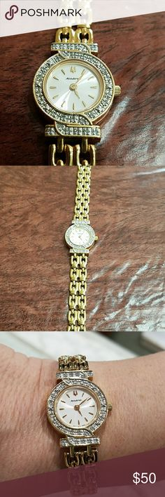Watch Accutron watch by Bulova. Gently used. In excellent condition. I just put in a new battery. Accessories Watches