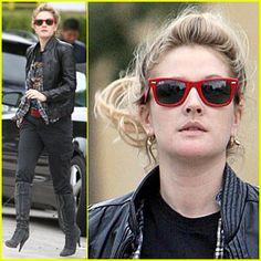 Drew Barrymore sunglasses