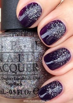 OPI My Voice is a Little Norse (over Viking in a Vinter Vonderland) #nails #beautyinthebag #nailart