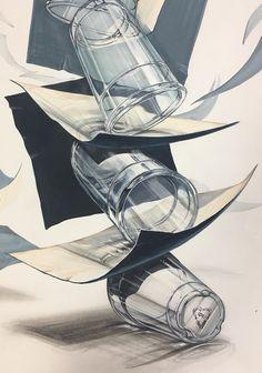#해운대입시미술#부산입시미술학원#해운대#기초디자인#수도권# Illusion Kunst, Illusion Art, Chicano, Drafting Drawing, Industrial Design Sketch, 2020 Design, Pencil Art, Woodworking Crafts, Art Sketches