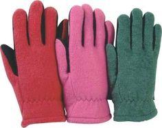 Majestic 1666 Split Deerskin Leather Driver Gloves Heatlok Lined Kid's Sizes (DOZEN)