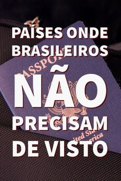 Brasileiros não precisam de visto para visitar mais de 100 países. Somente o passaporte é necessário. #visto #passaporte #viagem #aeroporto #viagens #mulhernoexterior #intercambio #viajar