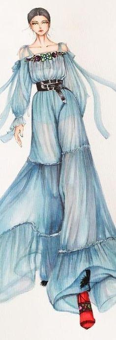 Eris Tran Fashion Illustration