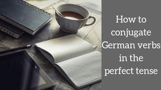 Let's get started with the past tense in German: The difference between the perfect and imperfect tense & how to conjugate regular verbs perfect tense. German Grammar, Speaking In Tongues, Past Tense, Learn German, Im Not Perfect, How To Find Out, Learning, Languages, German