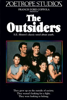 The Outsiders was a good book I read when I was in grade school.  It was one of the few books I really enjoyed when i had to write a book report.  I enjoyed reading books that interested me.