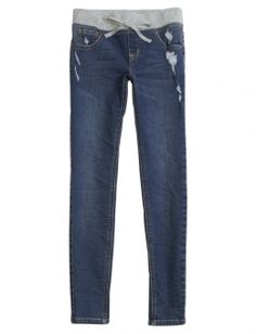 Shop Destructed Knit Waist Jeggings and other trendy girls jeggings jeans at Justice. Find the cutest girls jeans to make a statement today.