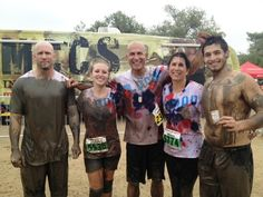 """Team """"Flood Bloods"""" competing at the World Famous Run at Camp Pendleton  #mudrun #camppendleton #10k"""