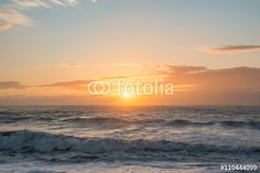 Ocean sunset blue orange rough seas waves dusk dawn sea - Buy this stock photo and explore similar images at Adobe Stock Rough Seas, Ocean Sunset, Sea Waves, Blue Orange, Dusk, Royalty Free Images, Blues, Stock Photos, Beach