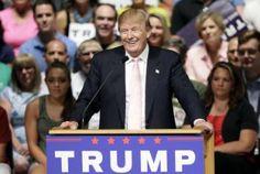 Aspirante presidencial republicano Trump supera a Bush en Florida