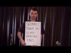 Sam Smith Hilariously Channels 'Love Actually' With Billboard Acceptance...