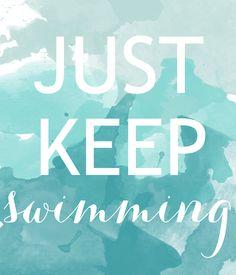Katelyn Brooke: just keep swimming