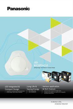 Panasonic LED Receptacle