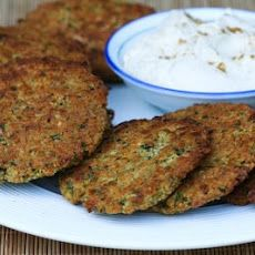 Baked Falafel Patties with Yogurt-Tahini Sauce Recipe I love Falafel and fresh is always best.