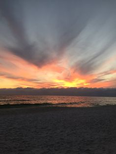 Panama City Beach sunset... photo from @tiffanycato