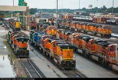 RailPictures.Net Photo: Burlington Northern Santa Fe Various at Galesburg, Illinois by Steve Schmollinger