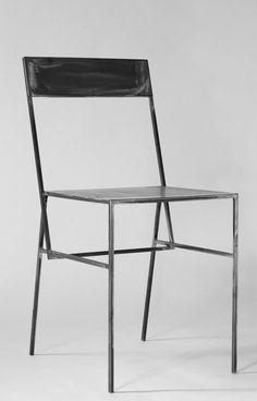 Full Metal Chair by Laura Greindl #atelier365 #lauragreindl #metal #chair #metalchair #modern #minimal