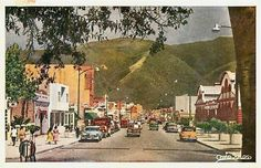 Antigua Avenida España, hoy llamada Boulevar de Catia. Caracas Años 50s