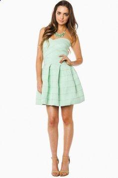 Maldonado Dress in Mint