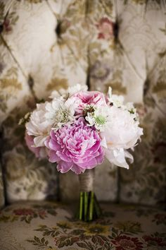 #Bouquet | Boho Wedding at the Carondelet House | See the wedding on SMP -- http://www.StyleMePretty.com/2014/01/23/boho-wedding-at-the-carondelet-house/ Photo Kronology
