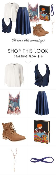 """""""Belle"""" by clairemjc ❤ liked on Polyvore featuring Dorothy Perkins, Romeo Gigli, Carine Gilson, Chicwish, Wet Seal, Olympia Le-Tan, EF Collection and Athleta"""