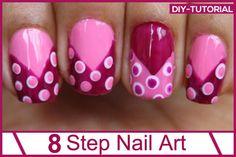 Easy Nail Art Designs | Ideas DIY Ready | DIY Projects | Crafts - DIY Ready | DIY Projects | Crafts