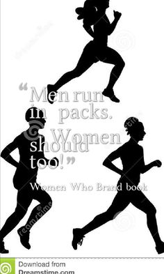Men run in packs and women should too. Men tend to have a network that's big and women tend to have a network that's narrow and deep. But a big network trumps a small one.