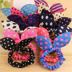 Apparel Accessories Cheap Sale Ears Hair Headwear Rope Band Rabbit Head Accessories Random Ring Elastic Terrific Value