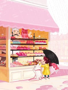 Parisian Confectionary on Behance