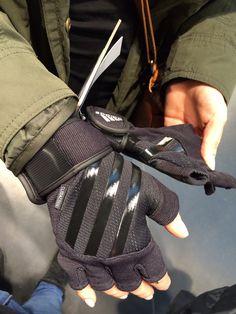 Adidas gloves. Cool