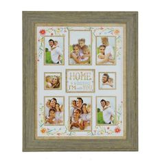 Home Is Wherever I'm With You Collage Frame | Kirklands