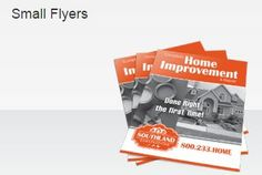 Small #Flyers are flat promotional printed products that are smaller than our standard flyers. They are a popular and convenient size for distributing promotional material. http://www.blackpineprinting.com/products/smallflyers1color