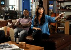 "#NewGirl 4x19 ""The Right Thing"" -  Winston and Cece have advice for Jess."