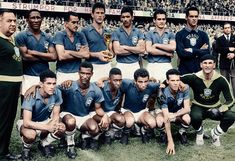 BRASIL  1958(Pelé...)