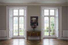 Farrow And Ball Living Room, Farrow And Ball Paint, Living Room Paint, Farrow Ball, Living Room Sets, Rugs In Living Room, Room Rugs, Curtains Living, Shades Of Grey Paint