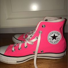 c6445bcd663573 Shop Women s Converse Pink size 7 Sneakers at a discounted price at  Poshmark.
