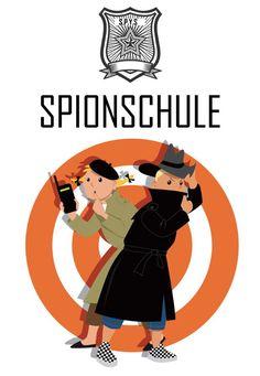 Die lustigste Spion-Party mit der Spionschule!. Escape Game zum Selbermachen #escapegame #exitspiele #grapevine